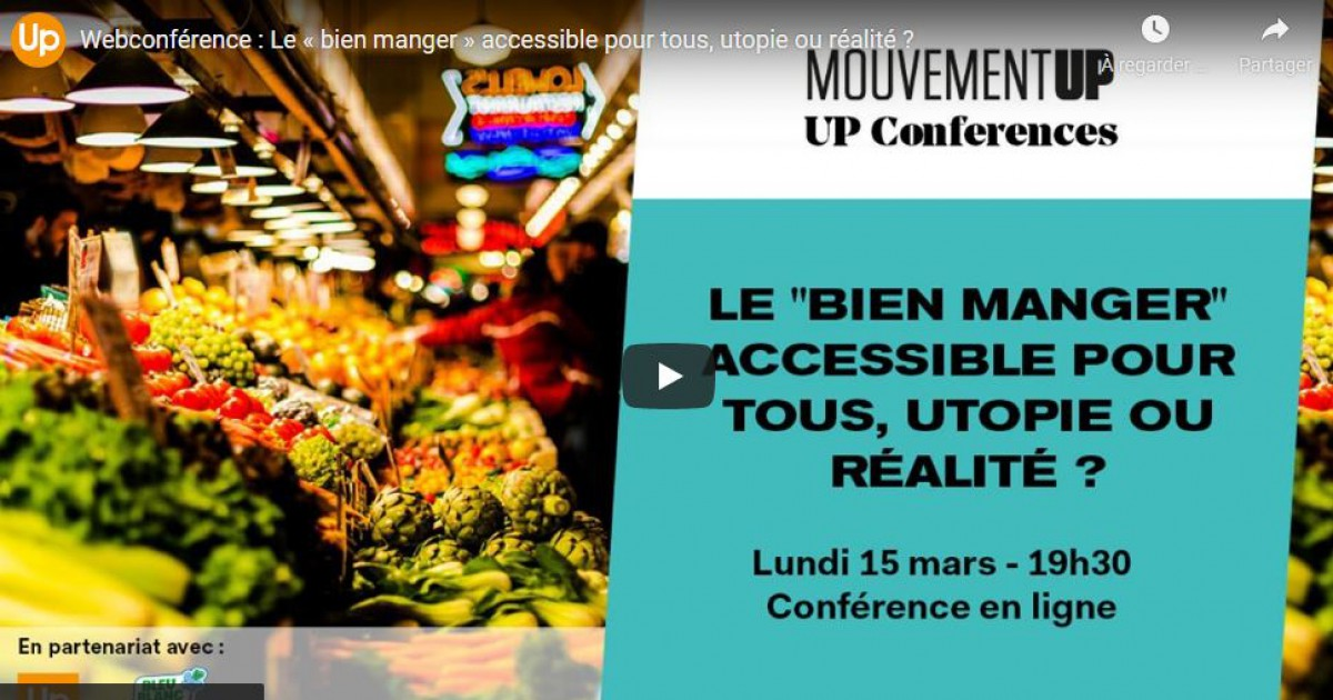 replay webconférence alimentation